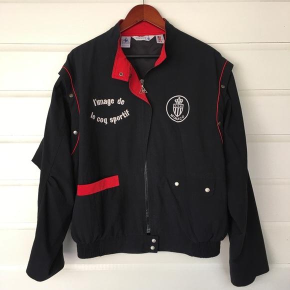 a5eddcaca22 Le Coq Sportif Jackets & Coats | Monaco Football Club Jacket By ...